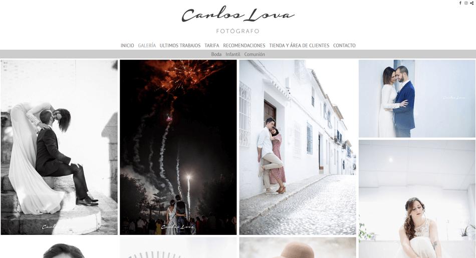 Carlos Lova fotógrafo bodas