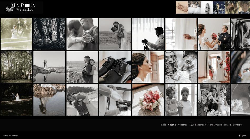 La Fabrica fotografía. Fotógrafos de boda