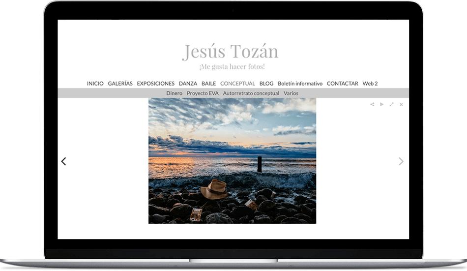 Jesús Tozán. Artistic photographer.