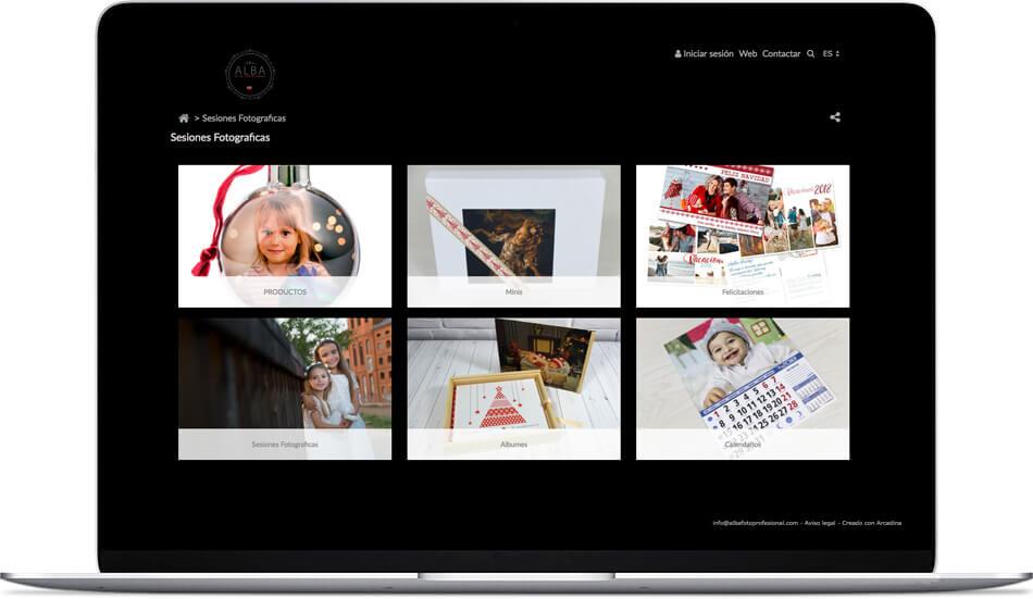 venta de sesiones fotográficas de Alba Foto Profesional