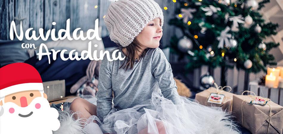 Promocionar sesiones fotográficas de Navidad con Arcadina