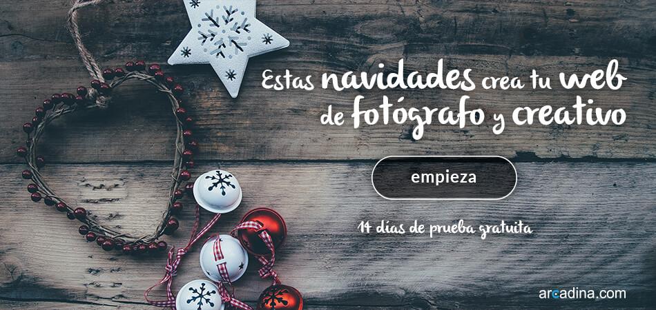 Crear tu web de fotografía con Arcadina