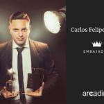 Arcadina tiene nuevo embajador, el fotógrafo Carlos Felipe Ortiz.
