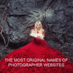 Creative naming, the most original names of photographer websites