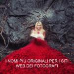 Naming creativo, i nomi più originali per i siti Web dei fotografi