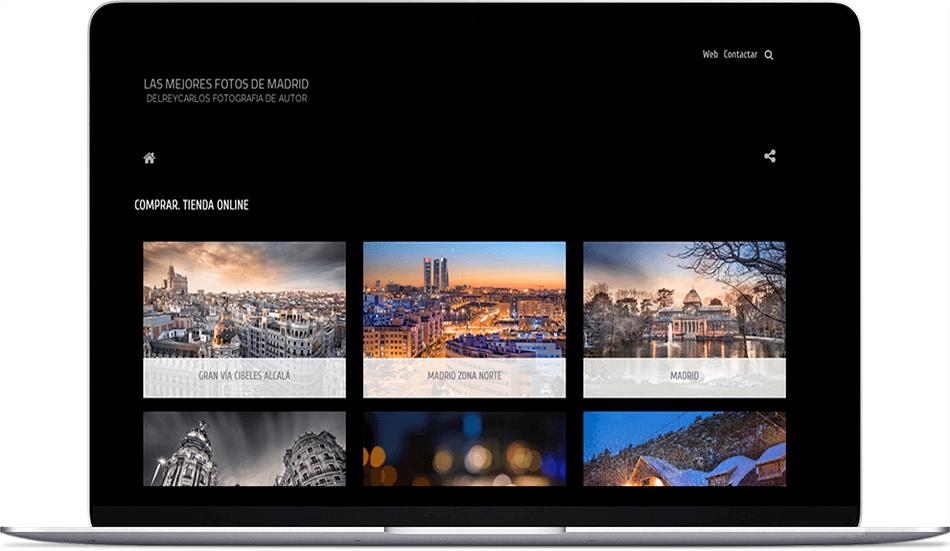 web con venta de imágenes Comprar-Fotos.com
