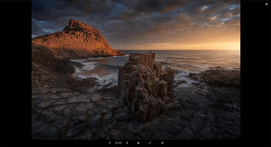 Web de fotografía de Francisco Ruano
