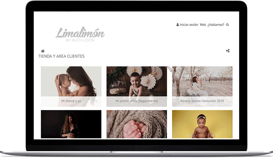 Venta de servicios fotográficos de LimaLimón