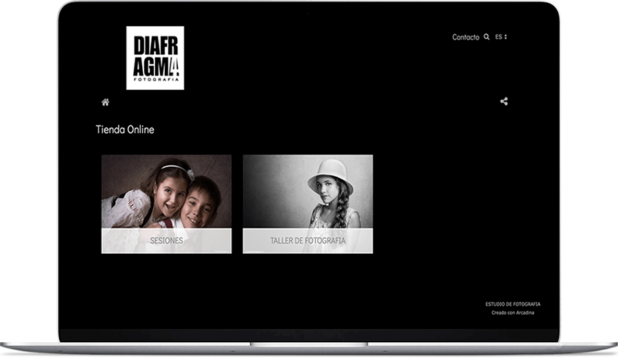 Venta de servicios fotográficos de Diafragma 4
