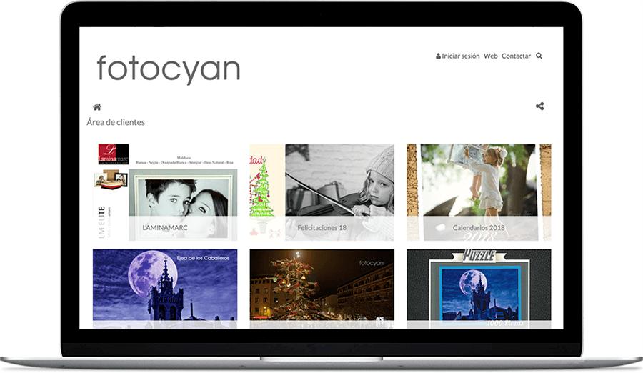 Venta de servicios fotográficos de Foto Cyan