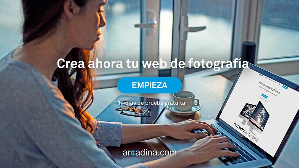 Crear una web de fotografía y vídeo