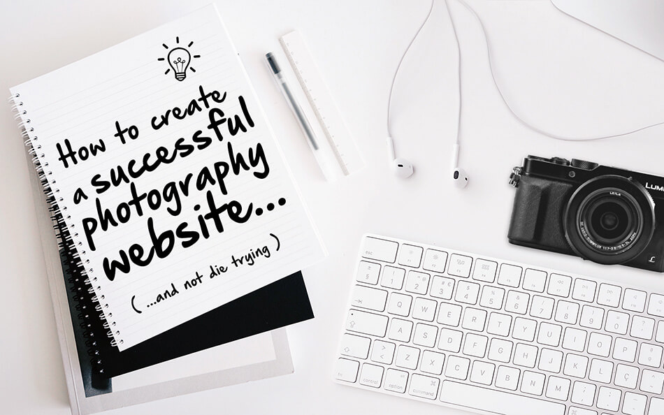 How to create a successful photography website