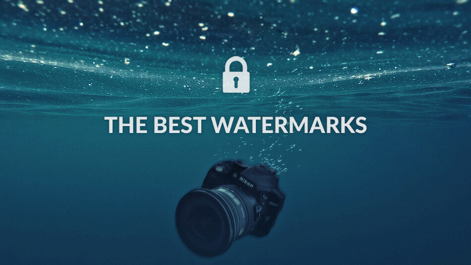 The most-used watermarks by photographers