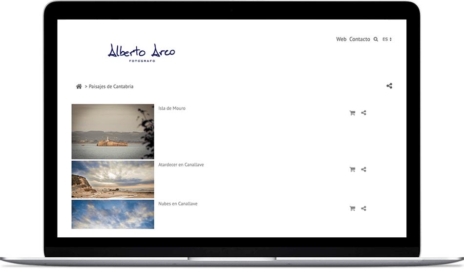 Alberto Arco, ofrece en su tienda online imágenes a la venta de los paisajes más espectaculares de Cantabria