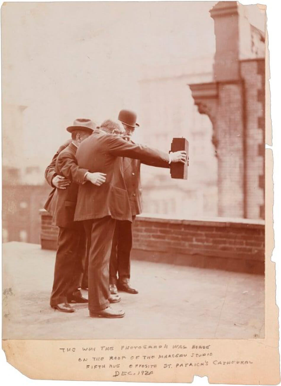 Making of del primer selfie de la historia
