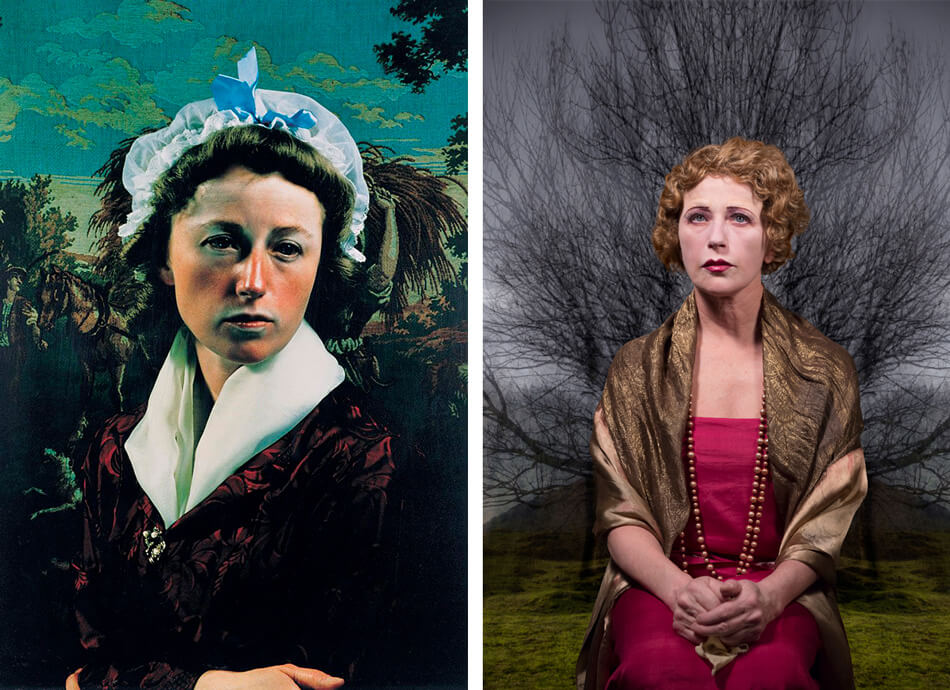 Autoretratos de Cindy Sherman
