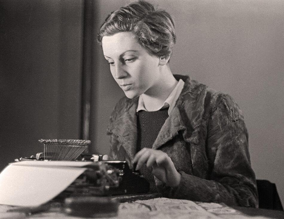 Gerta Pohorylle, conocida después con el pseudónimo de Gerda Taro