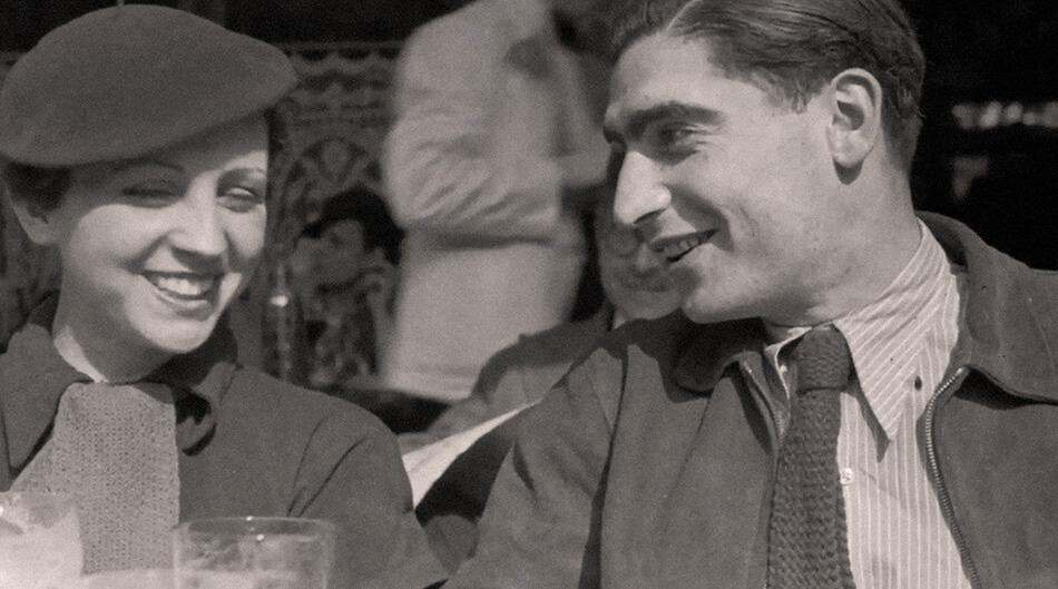 Gerda Taro y André Friedmann