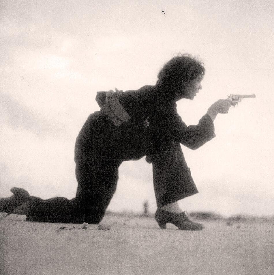 Icónica fotografía captada por Gerda Taro