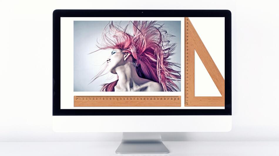 ¿Qué tamaño deben tener mis fotos para web?