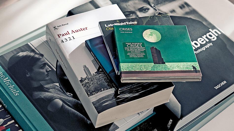Catálogos, libros y discos