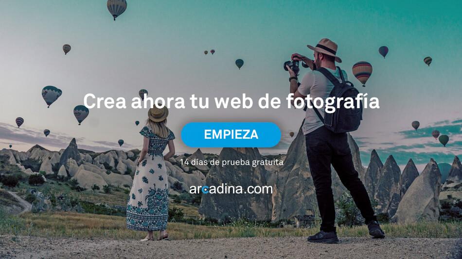 Crea ahora tu web de fotografía