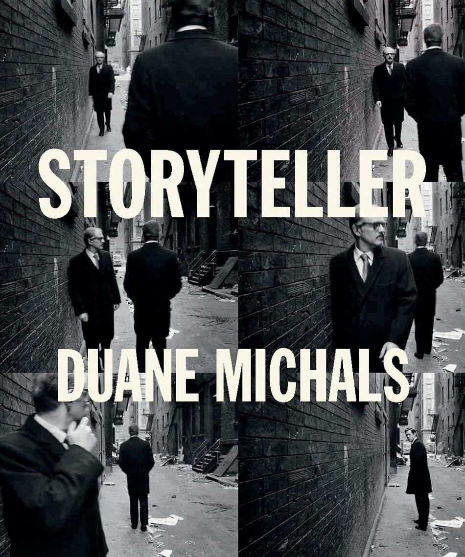 Portada del catálogo fotográfico Storyteller de Duane Michals