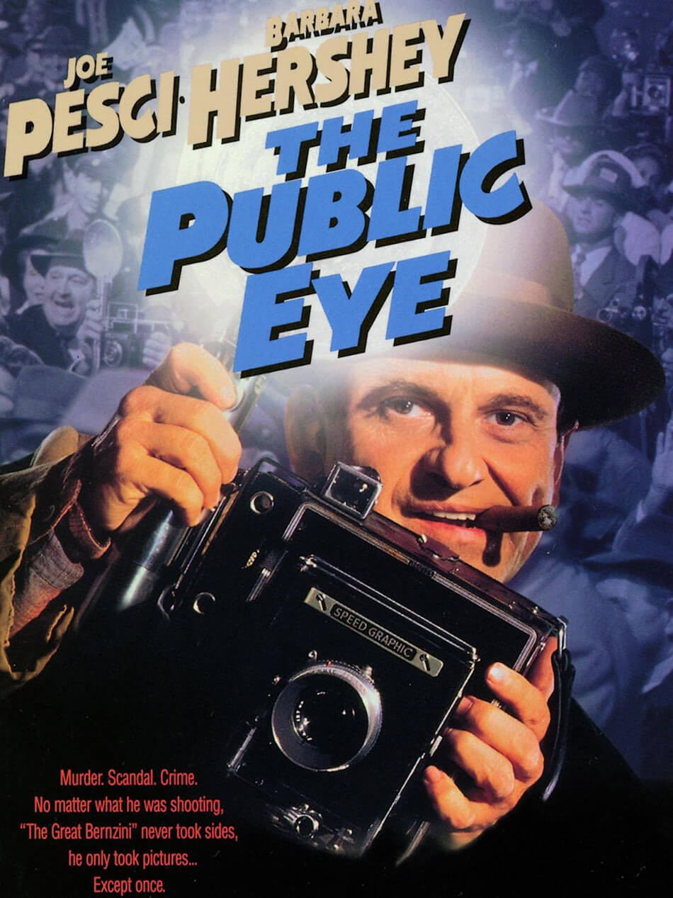 Cartel de la película El ojo público